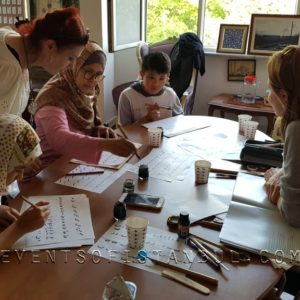 calligraphy workshop in istanbul