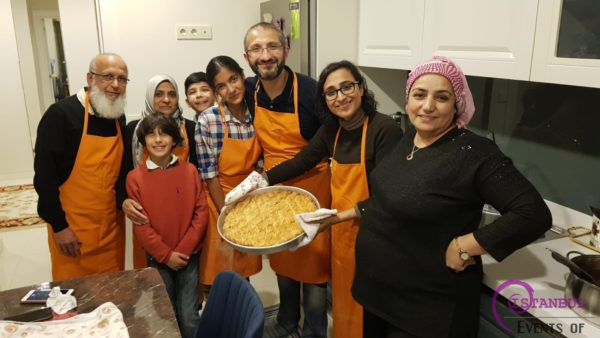 Homemade Baklava and Turkish Sweets Workshop Istanbul