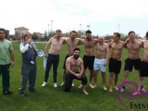Oil Wrestling Training Acitivity Class Outside Istanbul