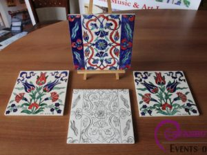 Ottoman Tile Ceramic Cini workshop in istanbul