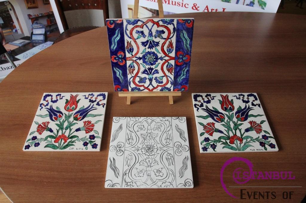 Ottoman Tile Ceramic Cini workshop in istanbul