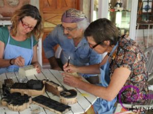 Wood Block Printing and Turkish Textile Designs Workshop