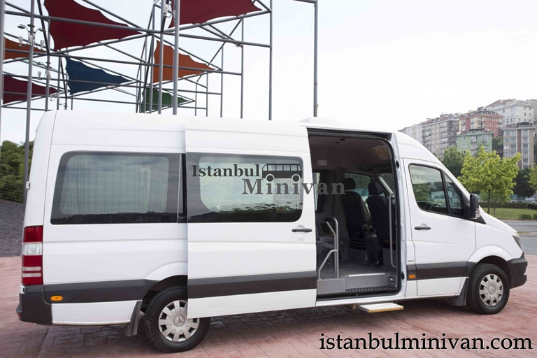 wheelchair access disabled minivan car rent istanbul turkey