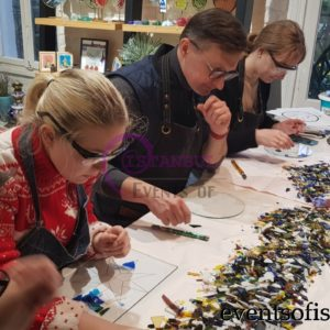 glass making hot glass class lesson workshop beyoglu istanbul