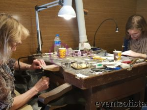 jewelry and sedef mother of pearl wood inlay making workshop lesson masterclass istanbul