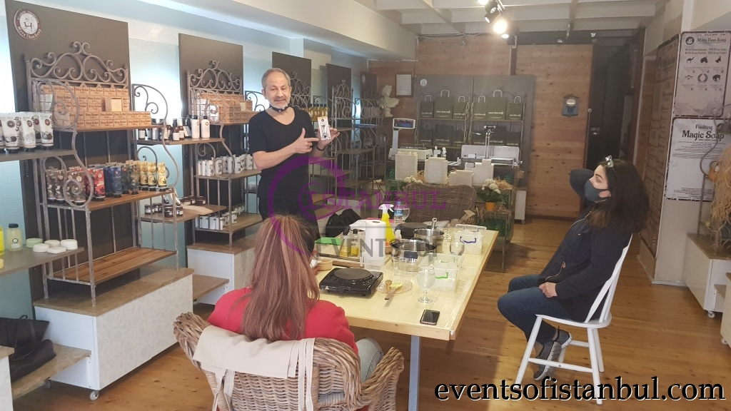soap making lesson workshop masterclass istanbul
